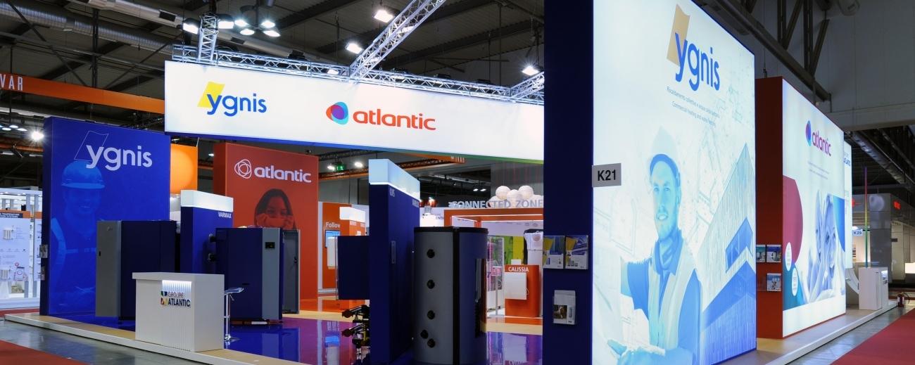Strutture in alluminio per allestimento stand e vetrine  ALU4expo